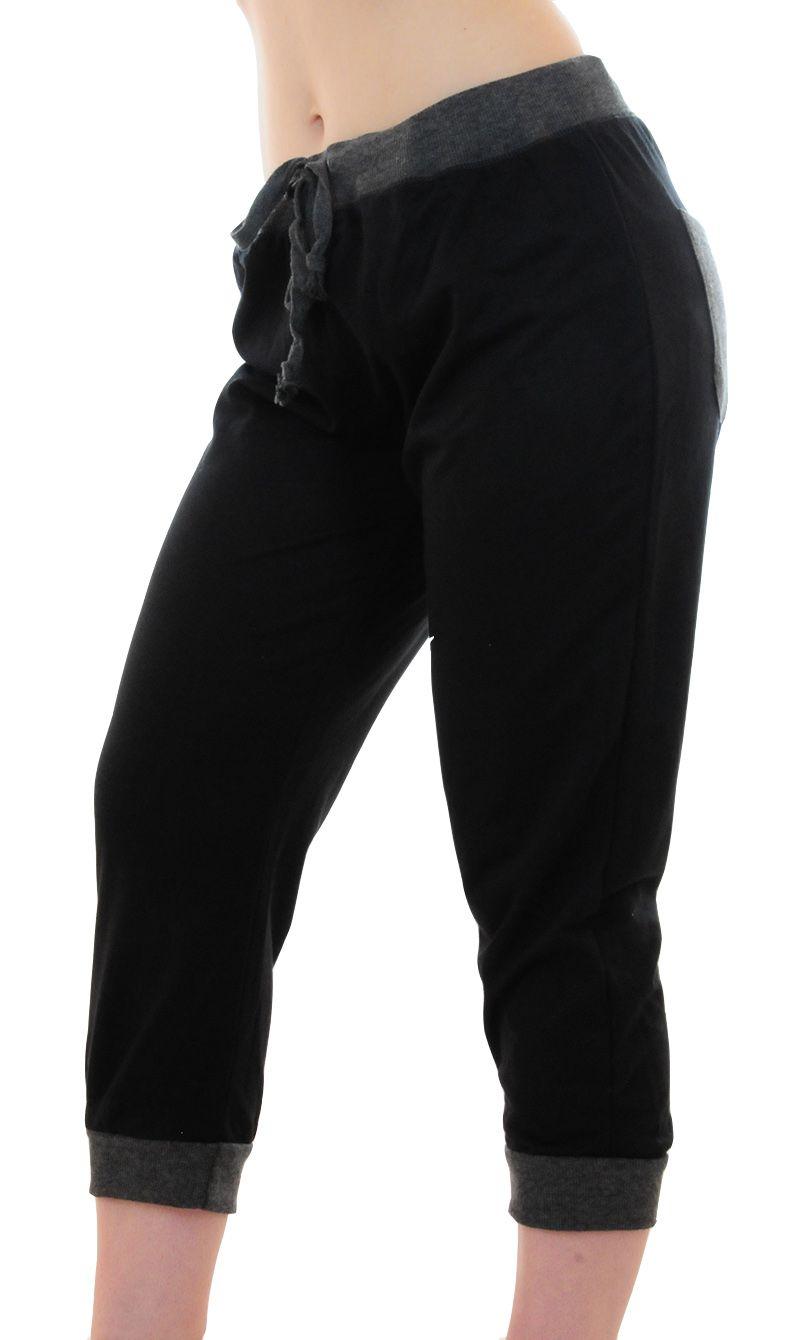 Спортивные женские капри от Coco Limon (США) - вид сбоку
