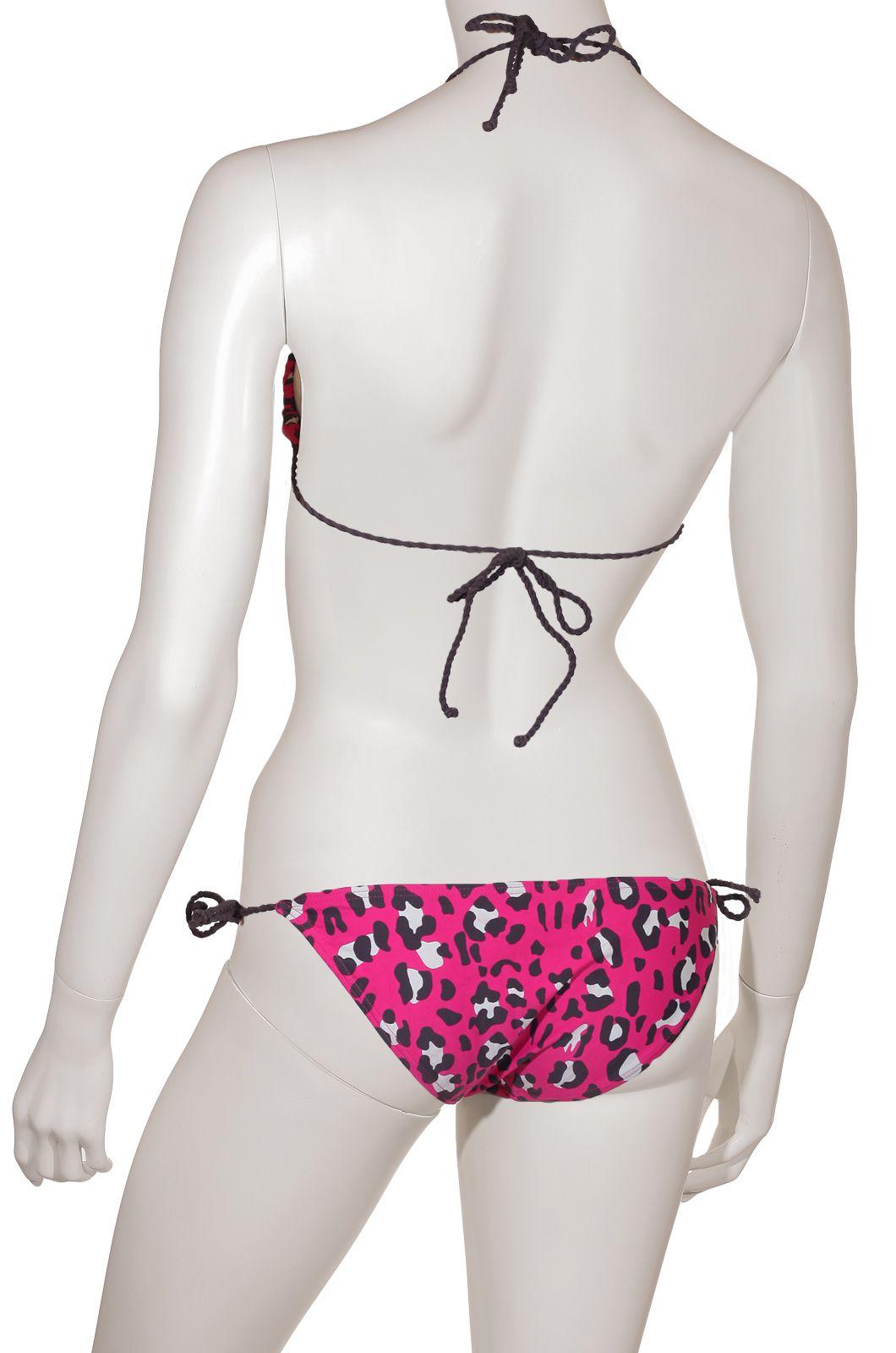 Элегантное пляжное бикини Blanсo (Испания) - вид сзади