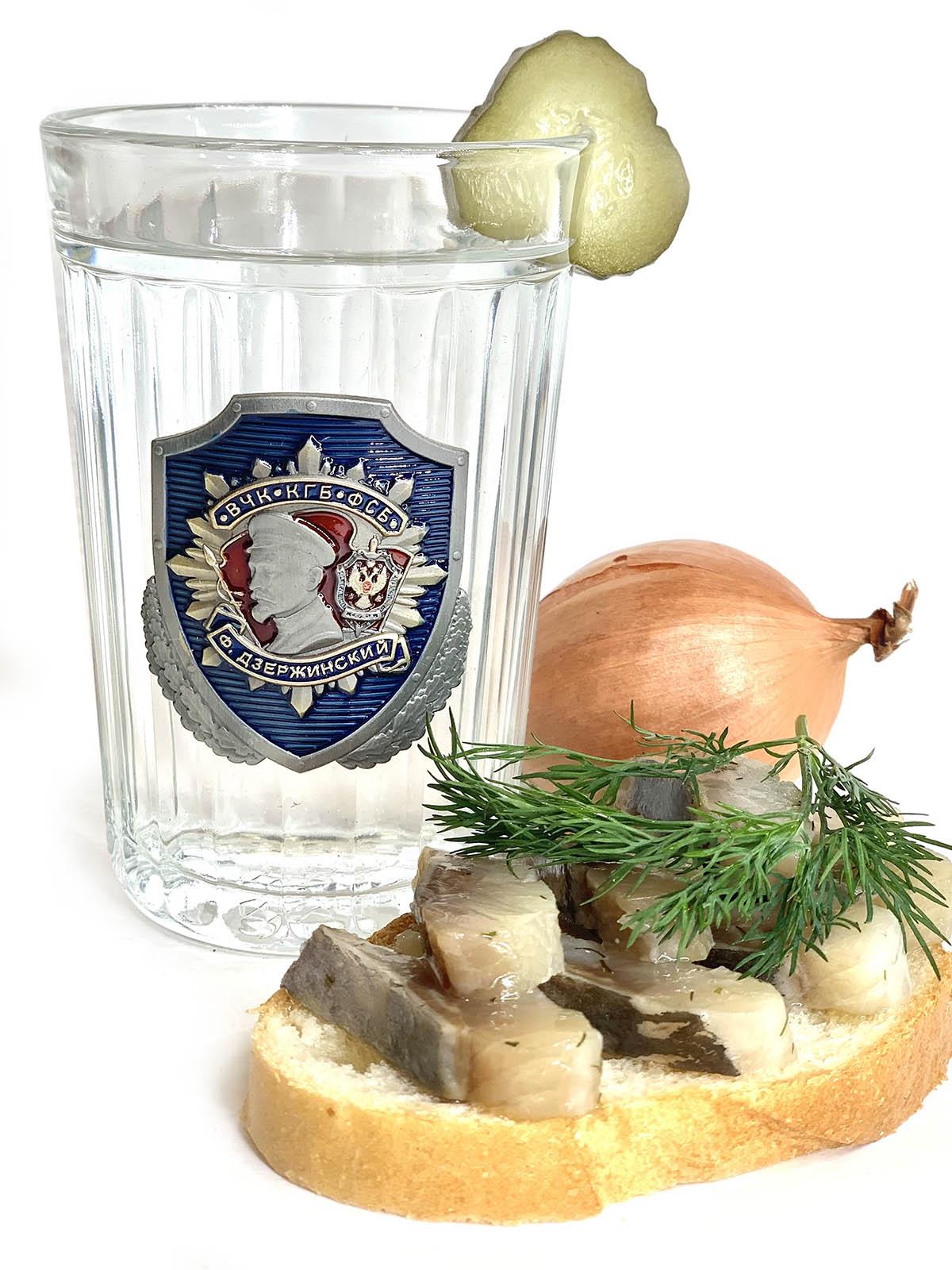 Купить стакан в дизайне ФСБ Дзержинский