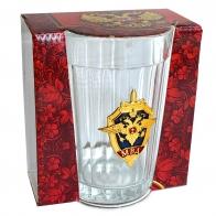 Настоящий граненый стакан «МВД»