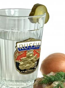 Граненый стакан Русский медведь