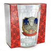 Классический граненый стакан Милиция