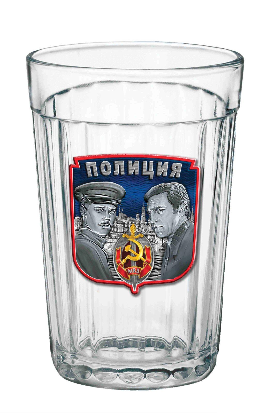 Заказать стакан подарочный Полиция по привлекательной цене