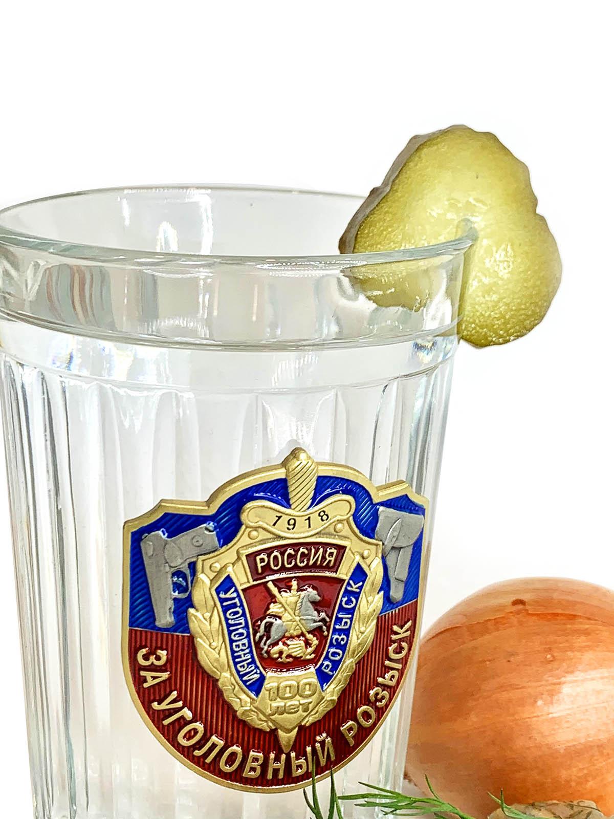Граненый стакан Уголовный Розыск