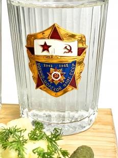 Набор стаканов ВМФ СССР