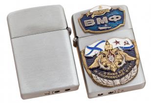 """Статусная газовая зажигалка """"За ВМФ!"""" с доставкой"""