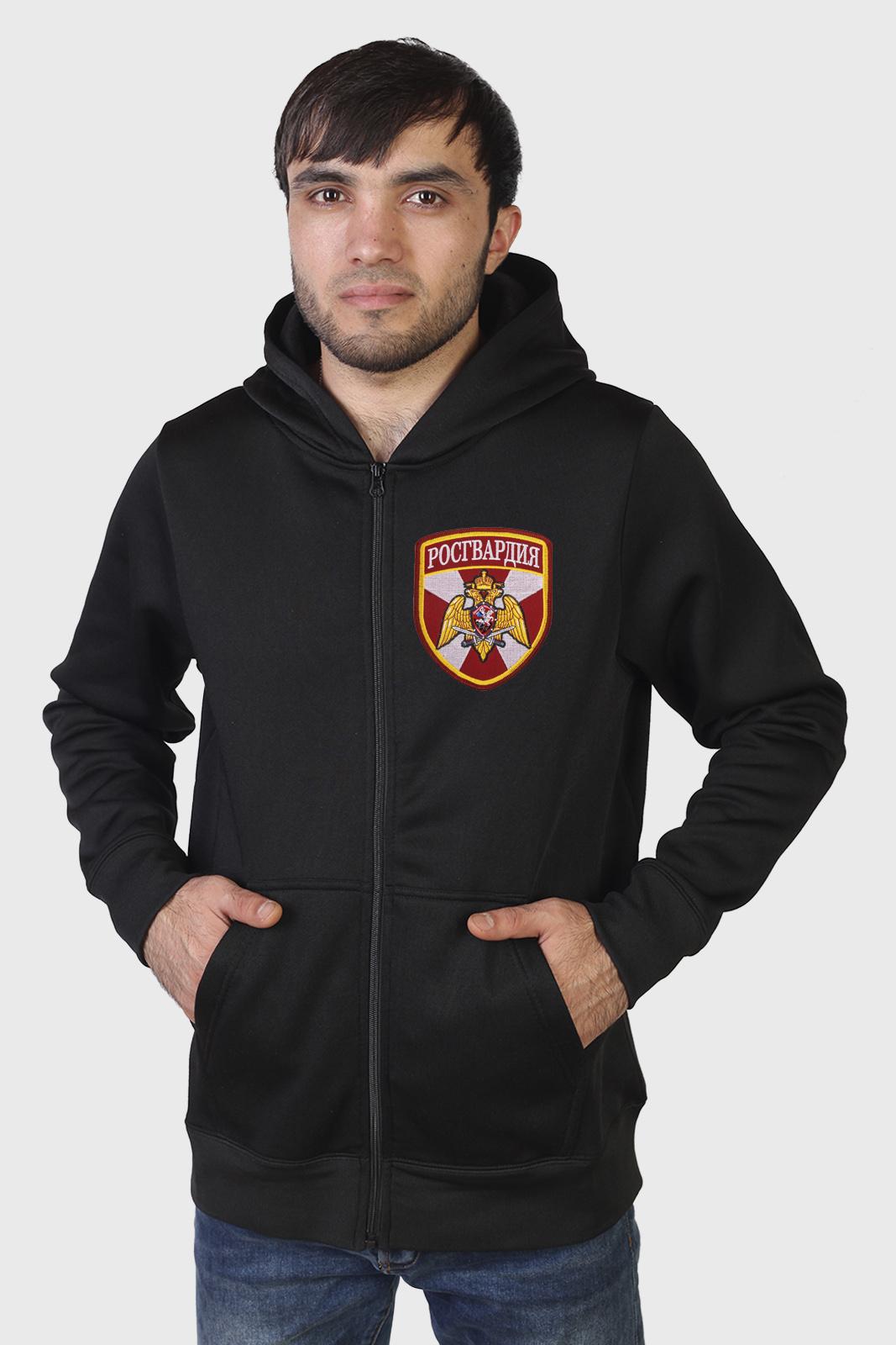 Купить в Москве мужскую толстовку Росгвардия