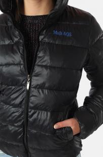 Стеганая женская куртка MAIK & QS с капюшоном