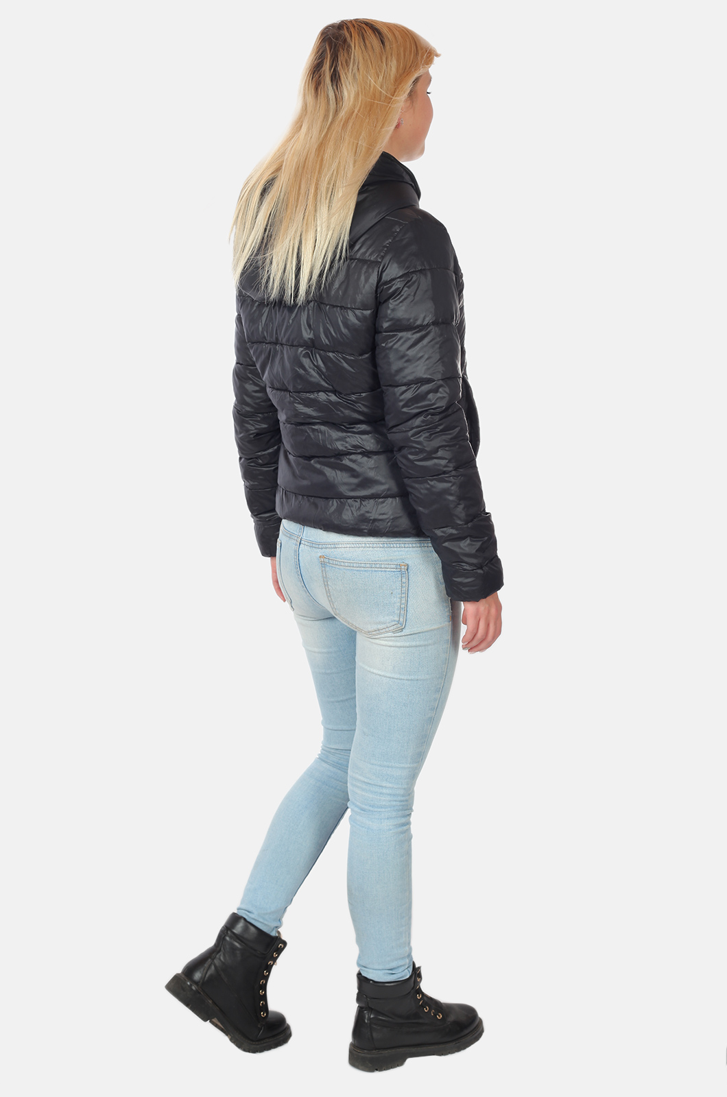 Стеганая женская куртка MAIK & QS с капюшоном с удобной доставкой
