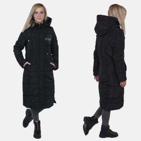 c60b32253aa Стеганое женское пальто с капюшоном от Review (Австралия).