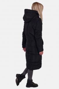 Стеганое женское пальто с капюшоном от Review (Австралия) оптом в Военпро