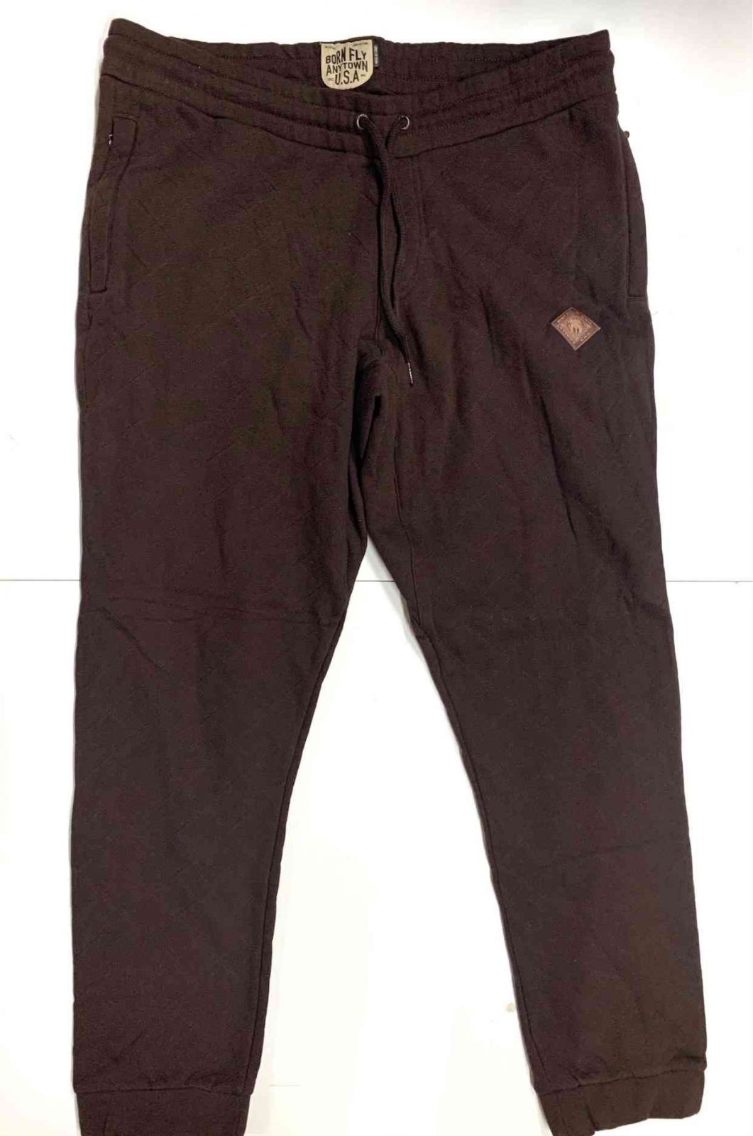 Стёганые мужские спортивные штаны BORN FLY