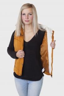 Стеганый женский жилет с капюшоном от Aeropostale (США) заказать в Военпро