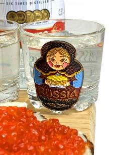 Набор для спиртного Русский медведь кружка для пива и стопки