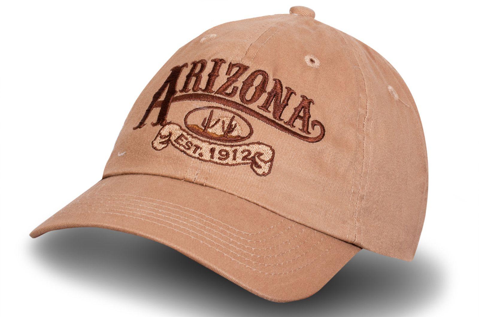 Стильная бейсболка Аризона - заказать по низкой цене