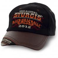 Стильная бейсболка Sturgis - стильный дизайн, отличное качество