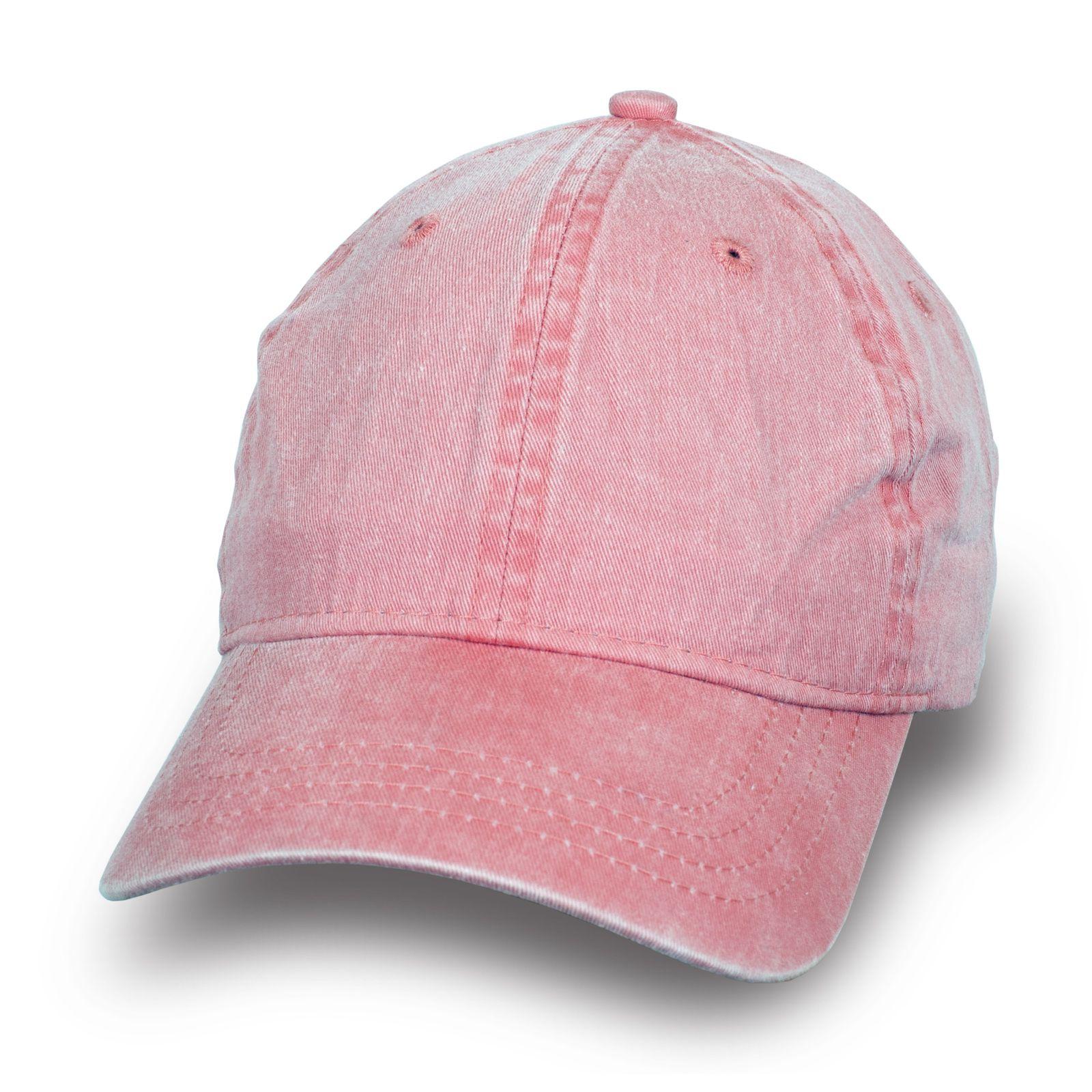 Стильная бейсболка цвета розовый джинс
