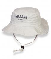 Стильная белая шляпа-панама Masada