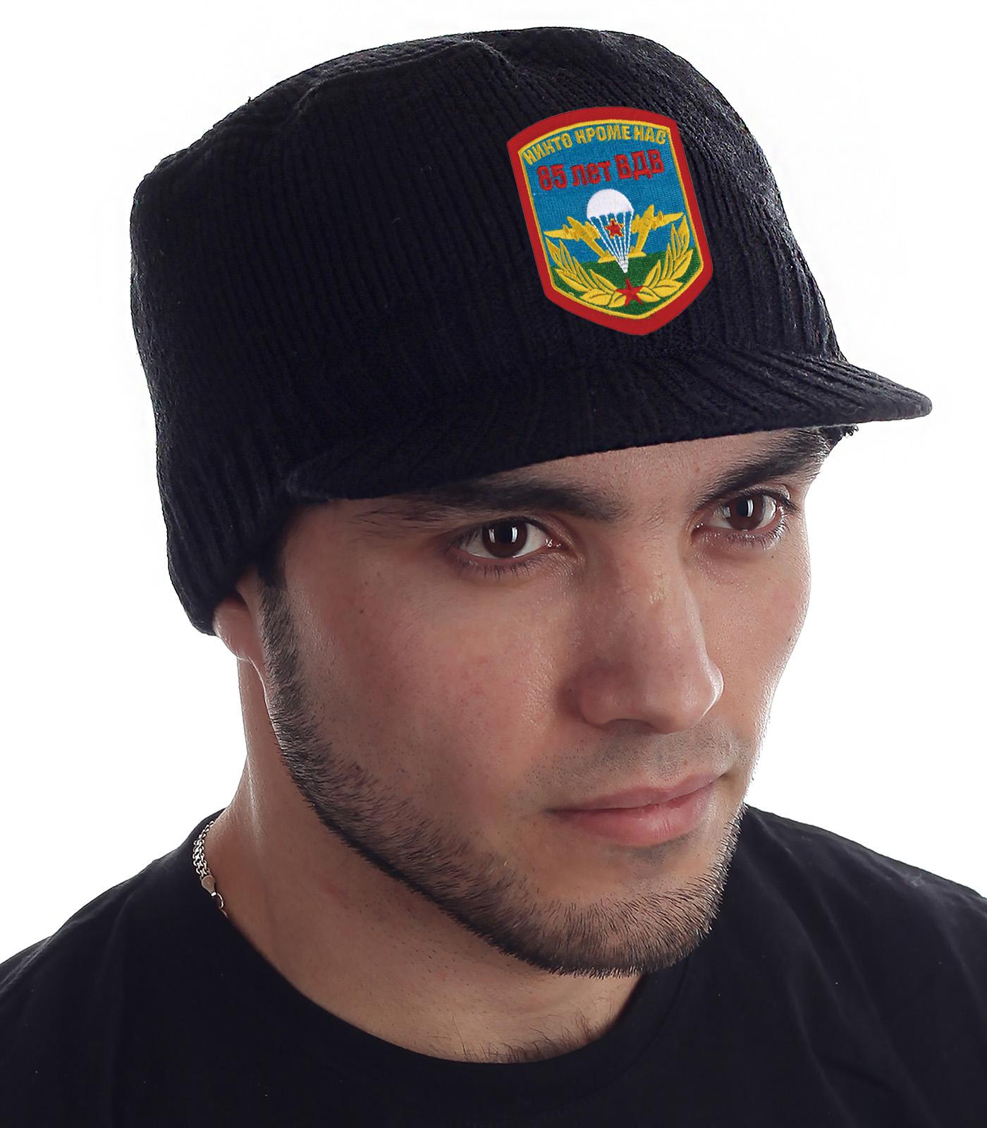 Купить стильную черную шапку-кепку  Miller Way с доставкой в ваш город