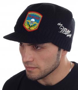 Стильная черная шапка-кепка  Miller Way - купить с доставкой