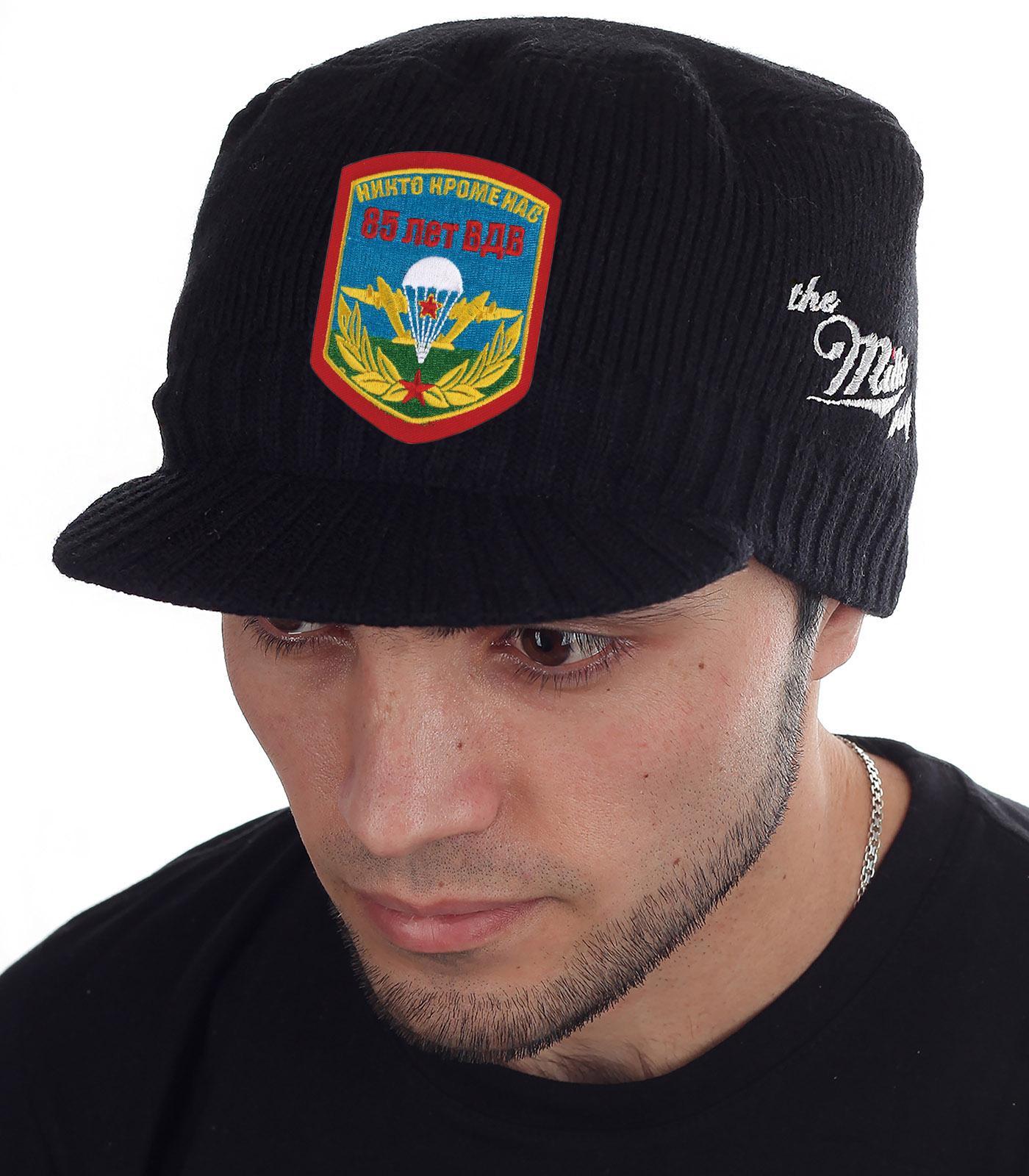 Стильная черная шапка-кепка  Miller Way - купить по лучшей цене