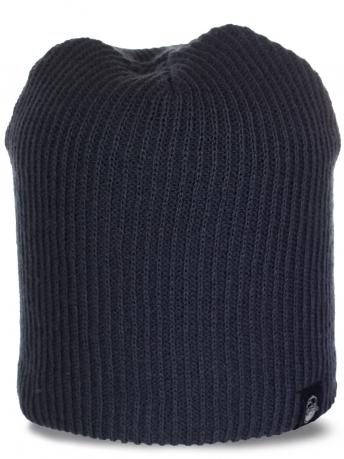 Стильная демисезонная шапочка для мужчин