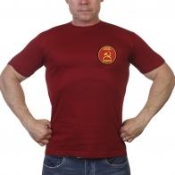 Стильная мужская футболка За нашу Советскую Родину