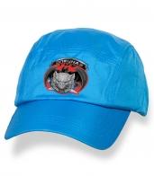 Стильная голубая кепка с термотрансфером спецназ ГРУ