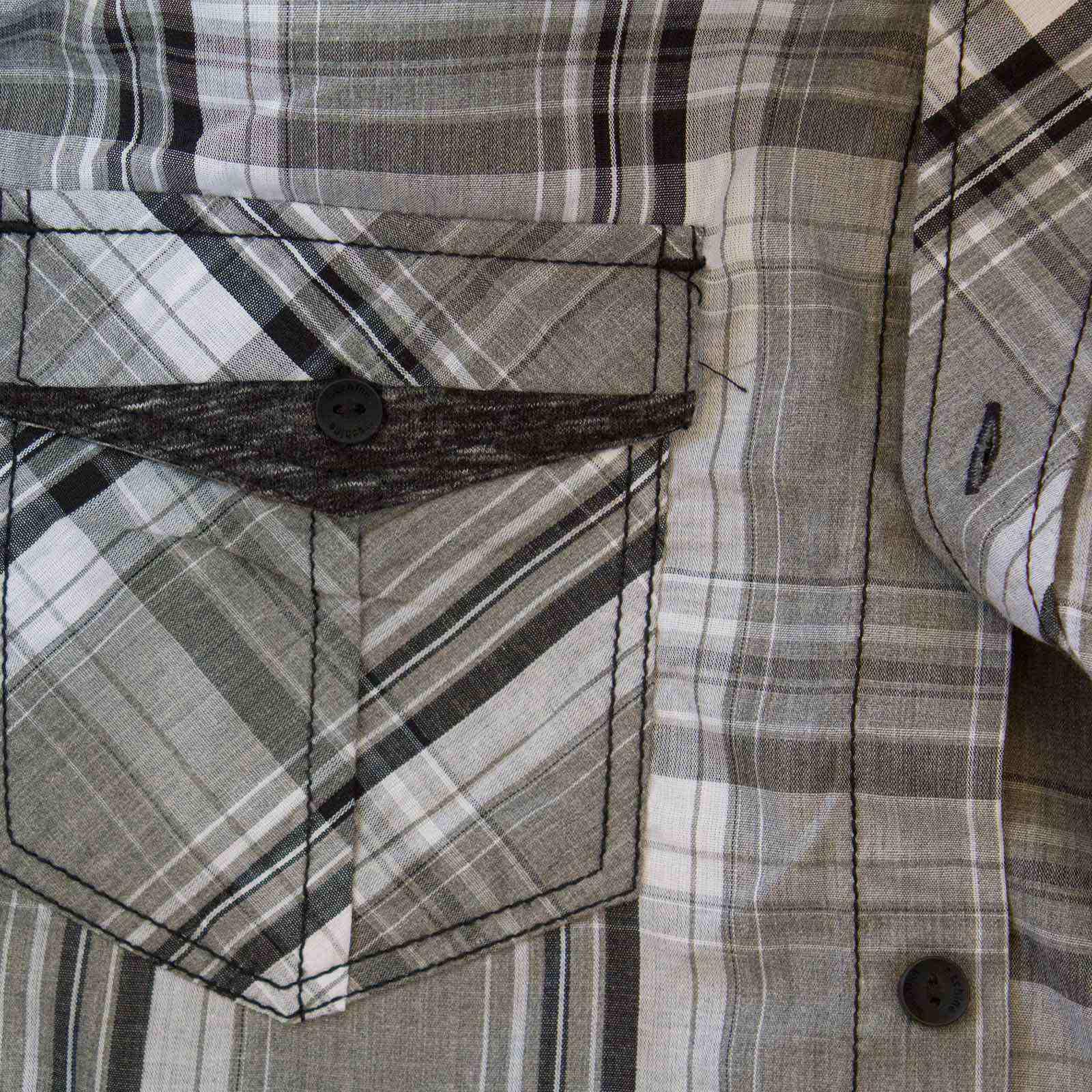 Стильная городская мужская рубашка от Machine-увеличено