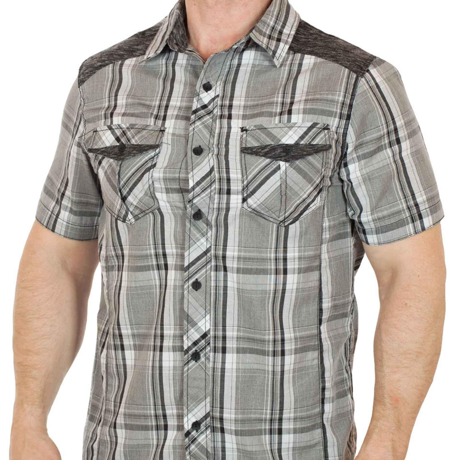 Стильная городская мужская рубашка от Machine-вид спереди