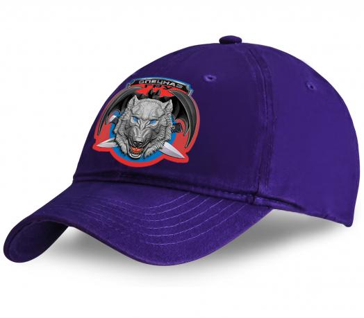 Стильная хлопковая кепка с волком и эмблемой «Спецназ ГРУ». Дополнит любой образ. Успей купить по смешной цене