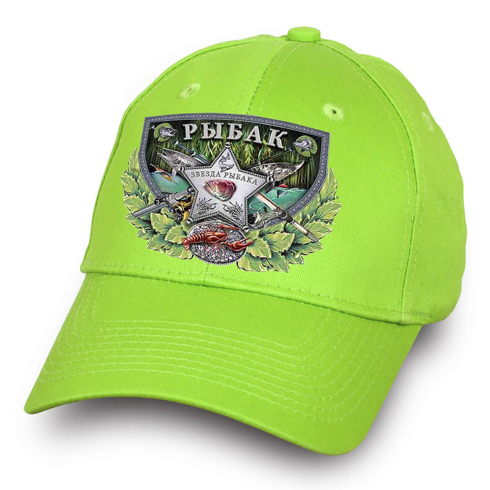 Стильная кепка для рыбалки - заказать с доставкой