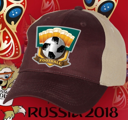 Стильная кепка футбольного фаната