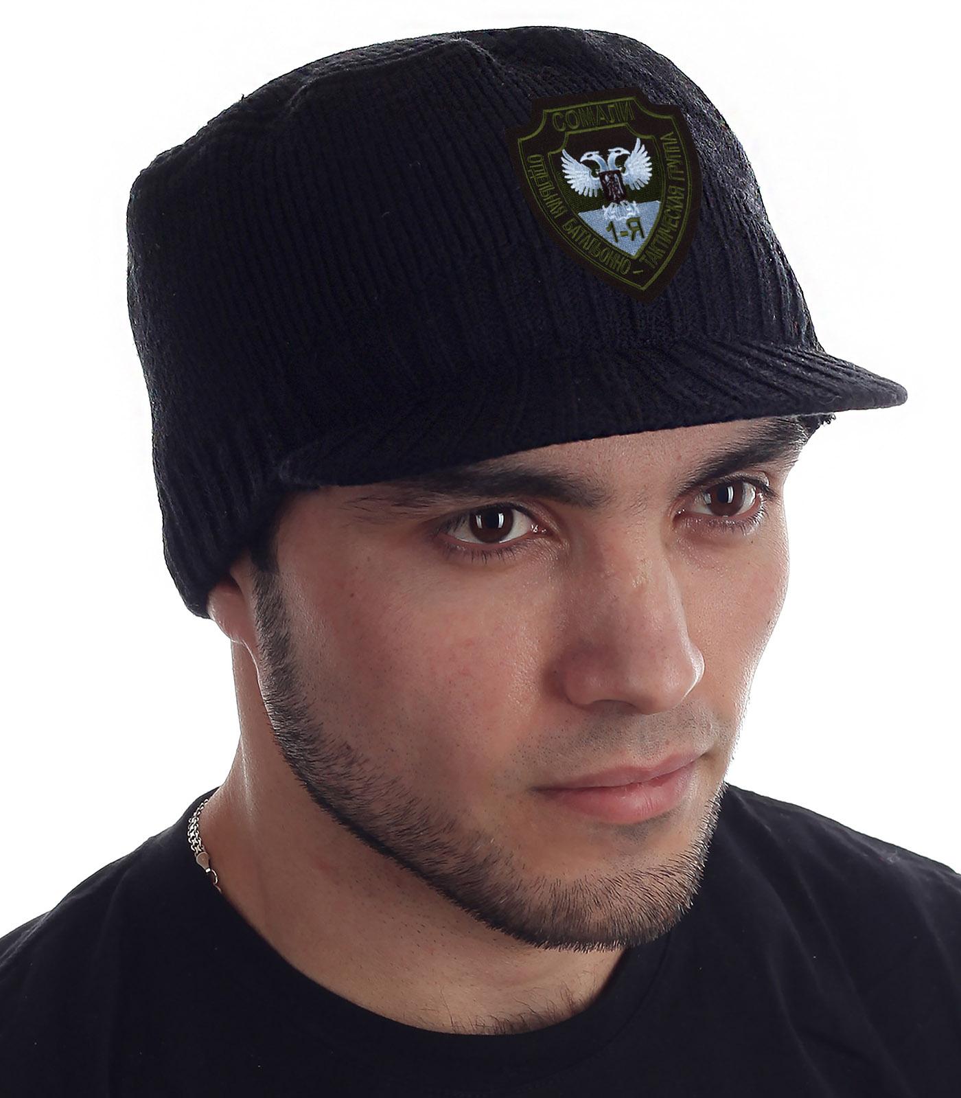 Купить стильную кепку-шапку Miller Way с нашивкой Группа Сомали с доставкой в ваш город