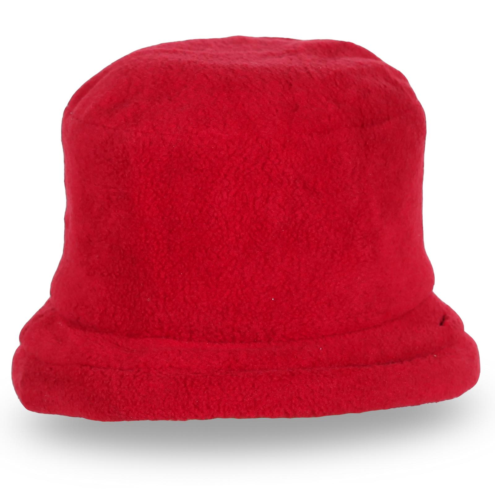 Стильная красная шляпа для модниц