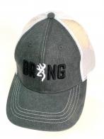 Стильная летняя бейсболка Browning с черно-белой 3-D вышивкой