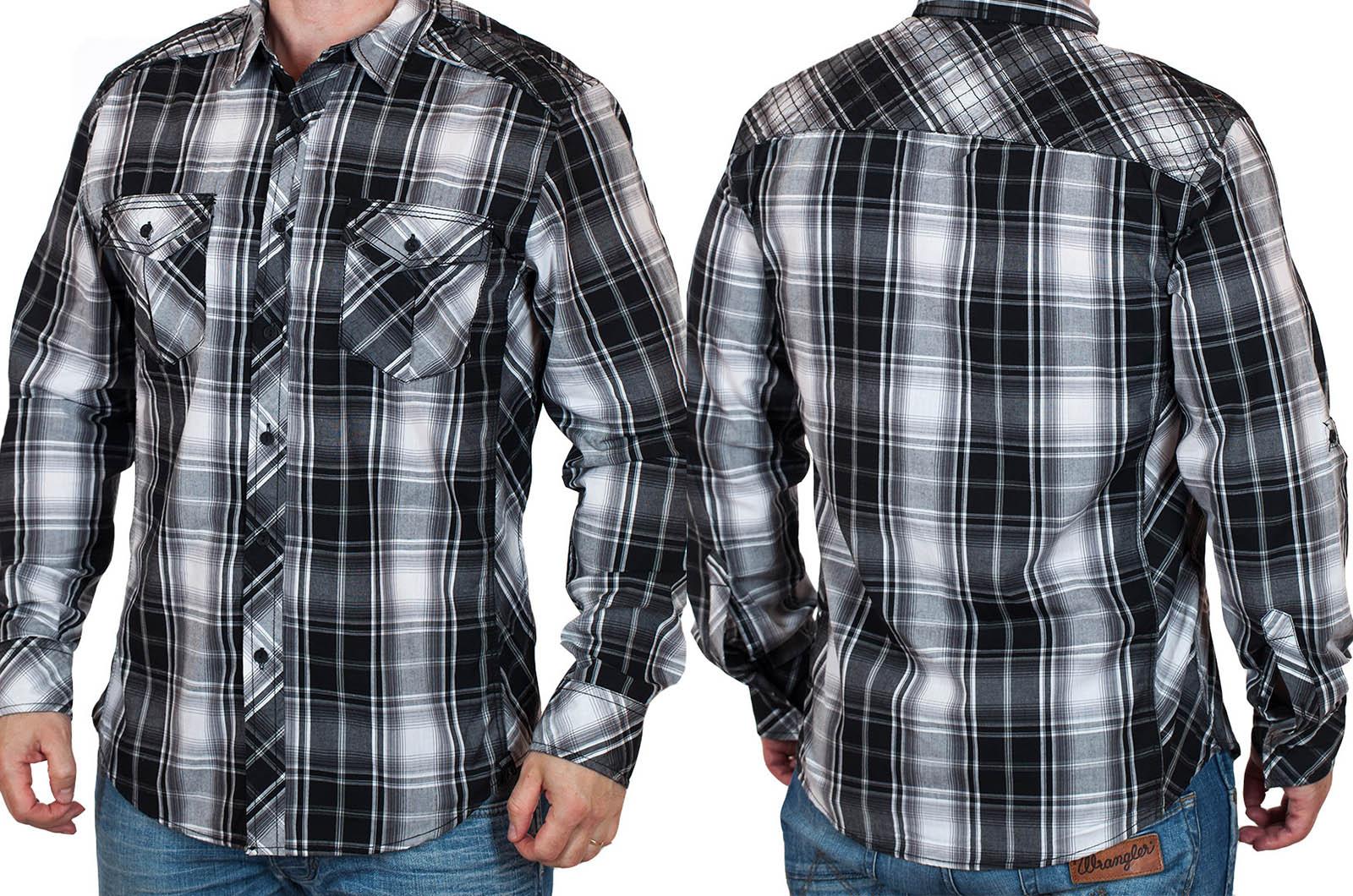 Стильная летняя мужская рубашка Surplus