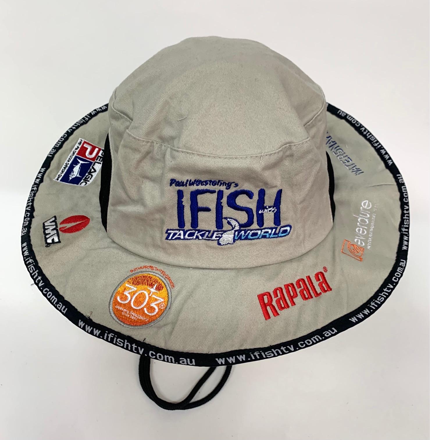 Стильная летняя панама рыболову IFISH