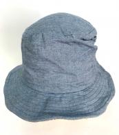 Стильная летняя панама серо-голубого оттенка