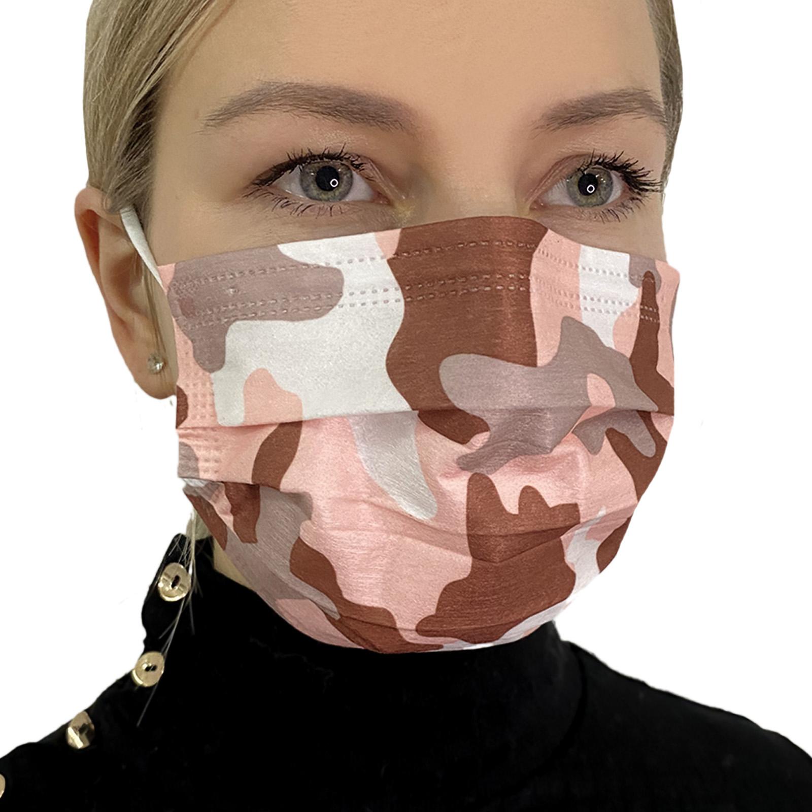 Стильная женская медицинская маска дешево