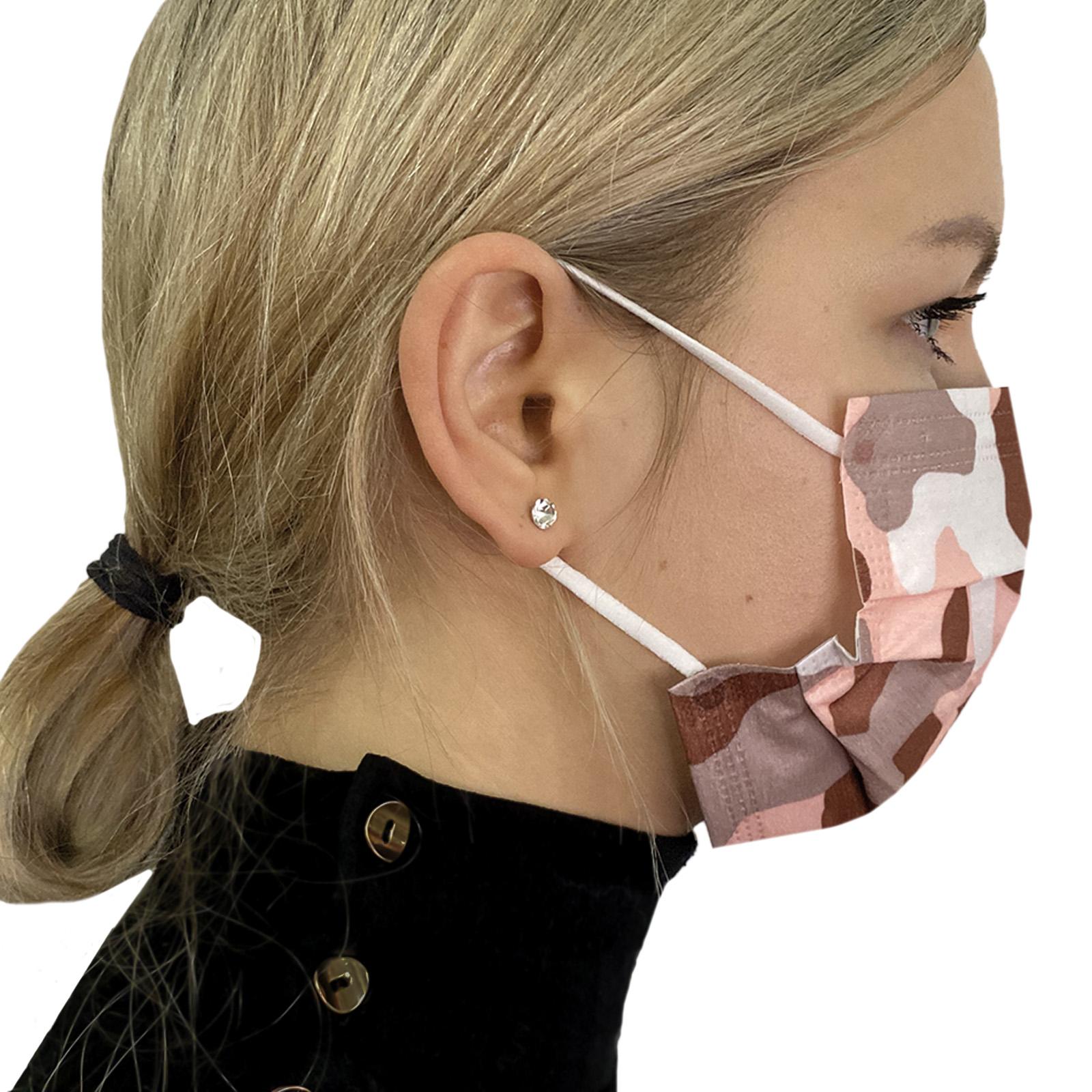 Стильная медицинская маска