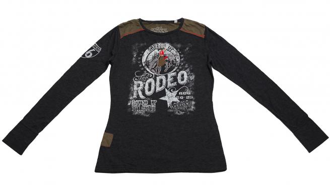 Стильная молодежная кофточка RODEO от бренда Panhandle Slim с бахромой