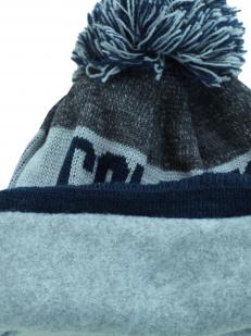 Стильная молодежная шапка с флисовой подкладкой на каждый день