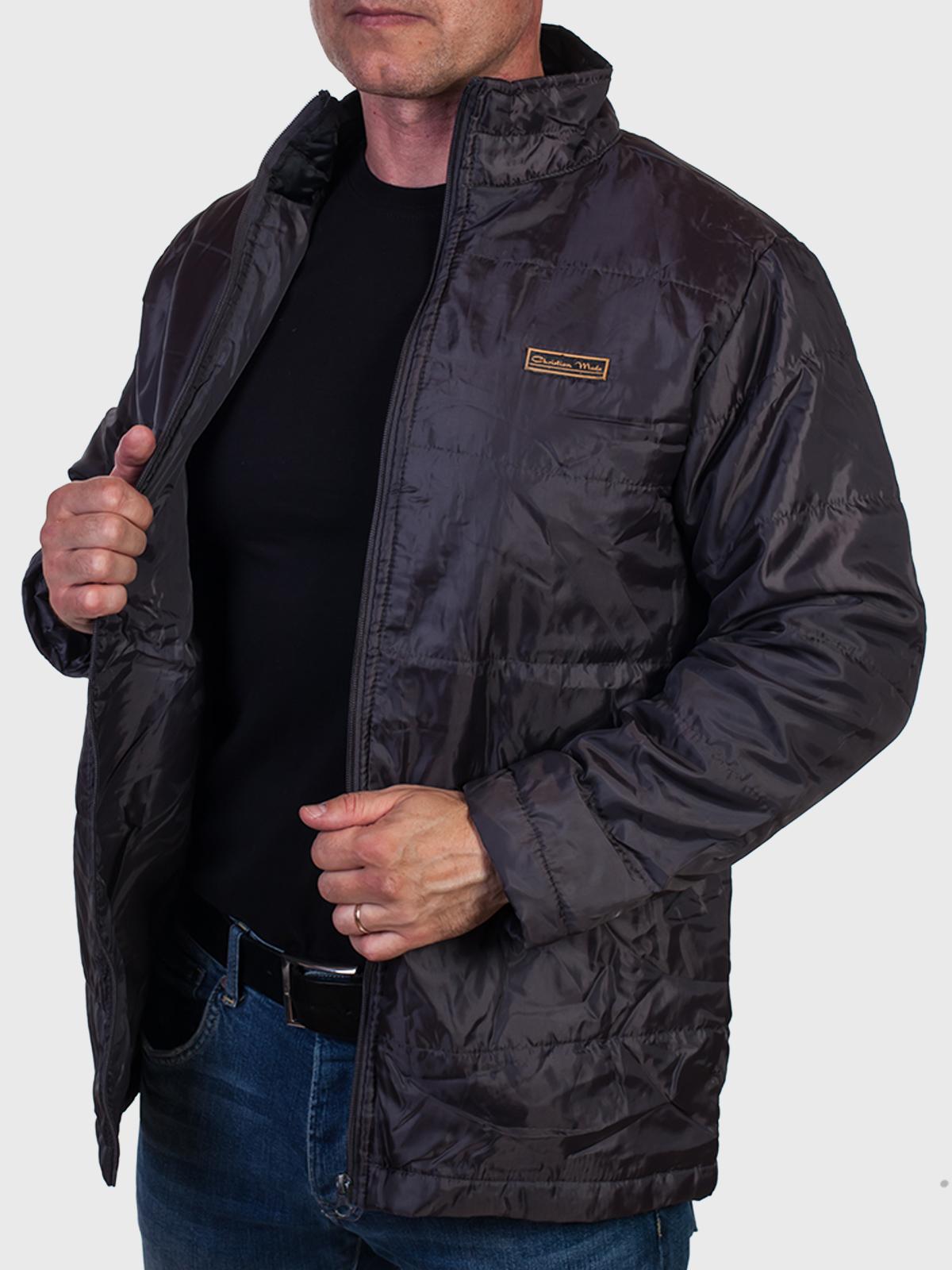 Стильная мужская демисезонная куртка Christian Mode