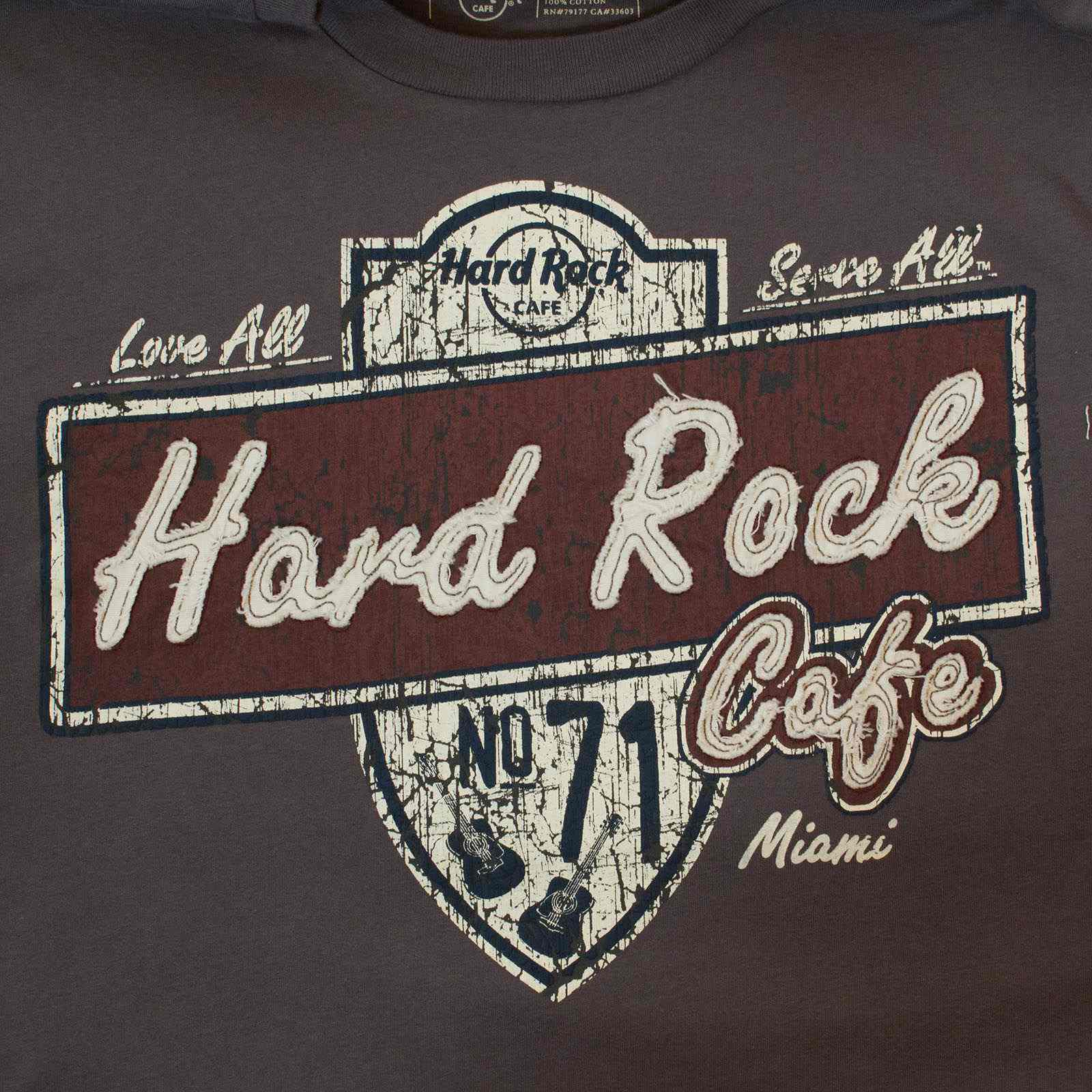 Стильная мужская футболка Hard Rock® Miami-увеличение