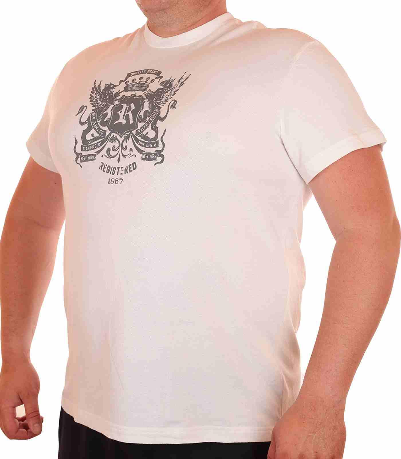 Стильная мужская футболка от американского бренда Ralph Lauren-главная