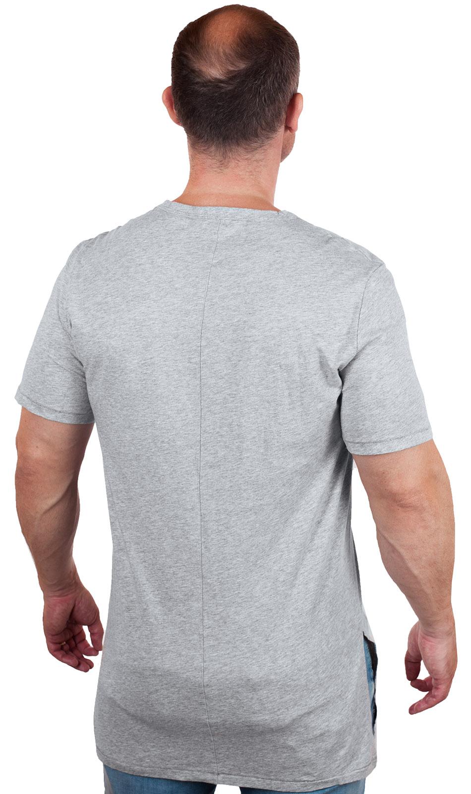 Длинная стильная мужская футболка от Commoners®
