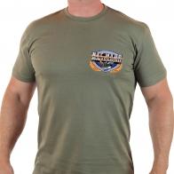 Стильная мужская футболка с символикой ВМФ