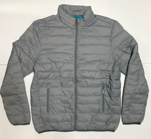 Стильная мужская куртка серого цвета