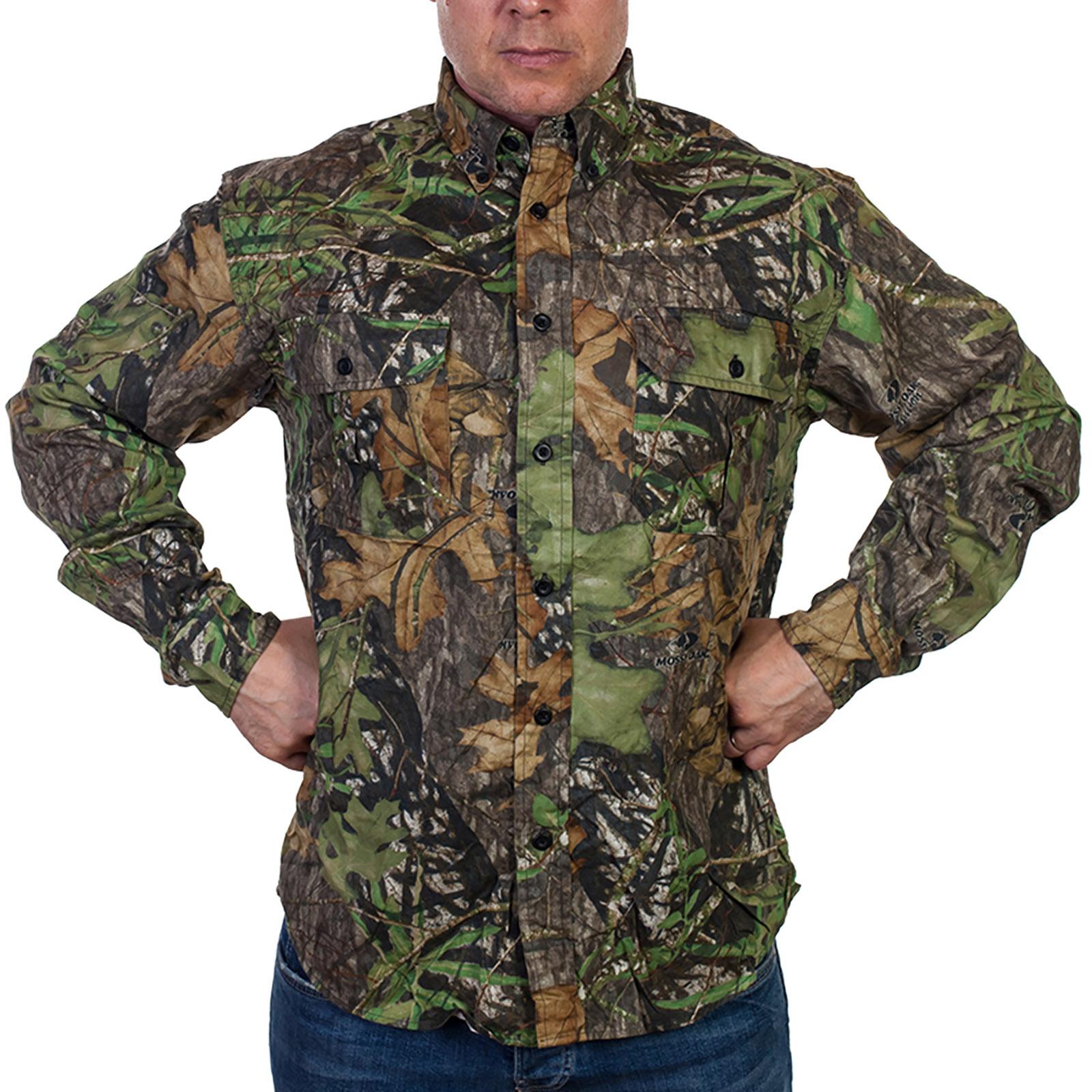 Стильная мужская рубашка Mossy Oak (США)